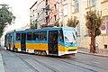 Tramway in Sofia in Alabin Street 2012 PD 019.jpg