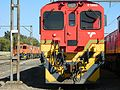 Transnet Class 10 060. Makers Plate G.E.C. Union Carriage and Wagon at Ogies Yard. (17092128807).jpg