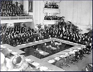 Firma del trattato di Versailles