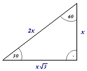 Right angle - Another option of diagrammatically indicating a right angle, using an angle curve and a small dot.