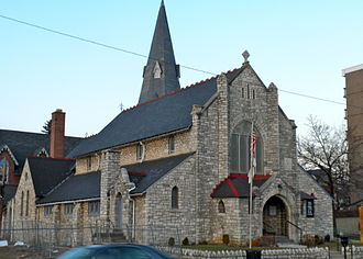 Coatesville, Pennsylvania - Episcopal Church of the Trinity, 323 East Lincoln Highway