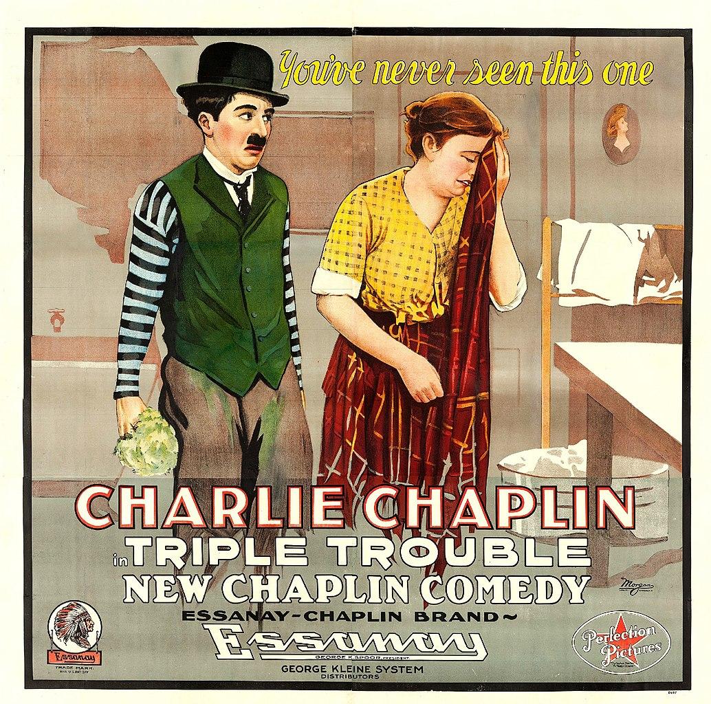 File:Triple Trouble poster jpg - Wikimedia Commons