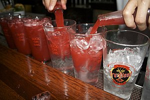 Tru Blood drinks