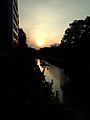 Tsuboigawa River and sunset.jpg