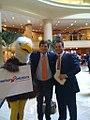 Tucker Carlson with the AmSol Eagle (4370058531).jpg