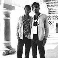 Tulsi Bhagat and Sandeep Raut during Wiki Camp Nepal 2018.jpg
