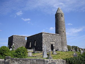 Turlough, County Mayo - Image: Turlough Round Tower