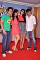 Tusshar Kapoor, Neha Sharma, Sarah Jane Dias, Riteish Deshmukh at 'Kyaa Super Kool Hain Hum' promotions 05.jpg