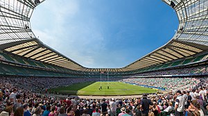 Twickenham Stadium - The interior Twickenham Stadium in 2012