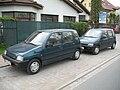 Two Daewoo Tico in Kraków.jpg