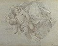 Two Putti Supporting the Lower Part of a Draped Figure (recto); Two Putti (verso) MET 1985.158.2 RECTO.jpg