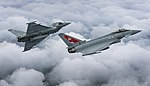 Two Typhoon FGR4 aircraft, flown by 29 (R) Squadron from RAF Coningsby MOD 45164133.jpg