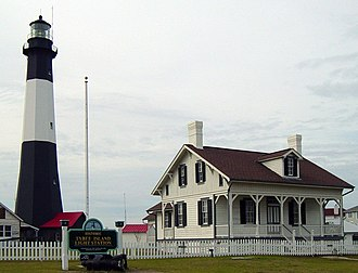 Tybee Island, Georgia - Tybee Island Light Station in 2004