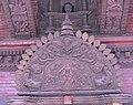 Tympanum of Bhagwati Temple Naksaal, Kathmandu.jpg