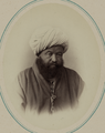 Types of Nationalities in the Turkestan Krai. Uzbeks. Baba Bii, Former Shahrisabz Beg in Shahr WDL11103.png