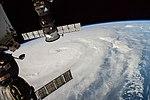 Typhoon Neoguri viewed from International Space Station 2.jpg