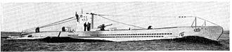 German submarine U-29 (1936) - Image: U 33 Unterseeboot (1936) in Brockhaus 1937