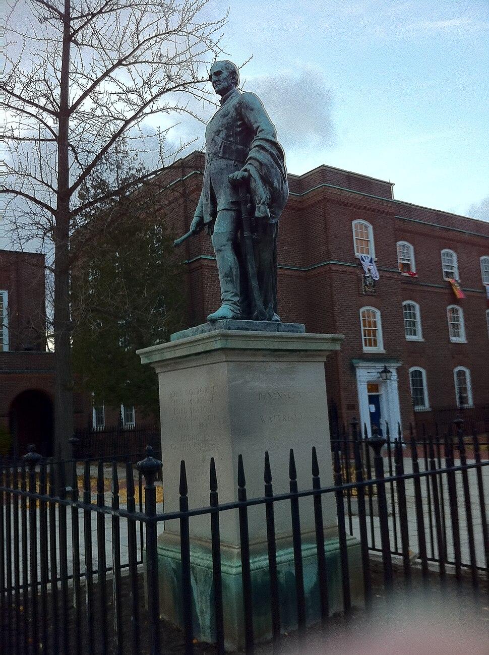 UCC Seaton statue