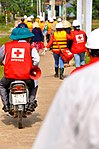 USAID, Red Cross Support Disaster Response Drill in Duy Hoa Commune, Quang Nam Province (8249535248).jpg