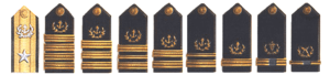 United States Maritime Service - USMS Shoulder Boards