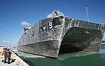 USNS City of Bismarck (T-EPF-9) moors at Key West on 13 February 2018 (180213-N-SX614-016).jpg