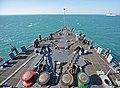 USS Ashland sea and anchor detail during Talisman Sabre 150713-N-KM939-002.jpg