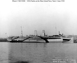 USS <i>Charles</i> (ID-1298) American passenger ship and troop transport