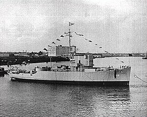 USS Density (AM-218) - Image: USS Density (AM 218)