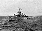 USS McNair (DD-679) underway off Korea in 1952