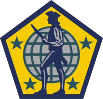 United States Army Human Resources Command - U.S, Army Human Resources Command shoulder sleeve insignia