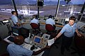 US Navy 040707-N-6932B-042 U.S. Navy air traffic controllers monitor and direct the launch and recovery of all aircraft.jpg