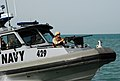US Navy 090327-N-0803S-002 Sailors assigned to Maritime Expeditionary Security Forces patrol the waters surrounding the Khawr Al Amaya Oil Terminal in the U.S. 5th Fleet area of responsibility.jpg
