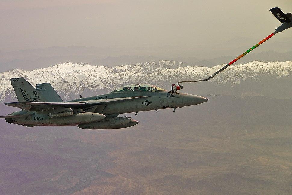 US Navy 090429-N-9062E-001 An F-A-18F Super Hornet from the