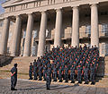 US Navy 100610-N-6961K-002 The 112 service members at Naval Medical Center Portsmouth, stand in formation after receiving the Humanitarian Service Medal.jpg
