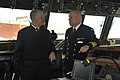 US Navy 100819-N-8273J-081 Chief of Naval Operations (CNO) Adm. Gary Roughead, left, speaks with Rear Adm. Anders Grenstad, Chief of Staff of the Royal Swedish Navy.jpg