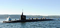US Navy 101029-N-1325N-005 The Ohio-class ballistic submarine USS Alabama (SSBN 731) returns to Naval Base Kitsap from a deterrent patrol.jpg