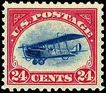 Curtiss Jenny24¢, 1918