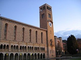 University of Western Australia - Winthrop Hall is the most prominent landmark on the main UWA campus.