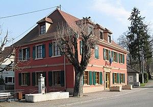 Uffheim - Image: Uffheim, Mairie
