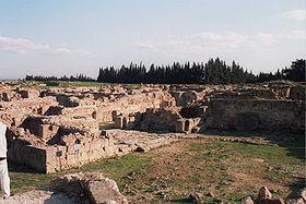 Restos de Ugarit.
