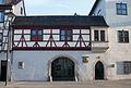 Ulm Neue Strasse 96 Kiechelhaus Traufteil mit Erker 2011 09 21.jpg
