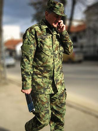 Serbian Army - Serbian Army uniform M10