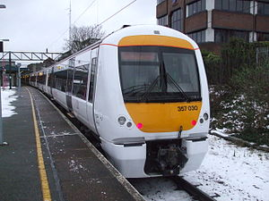 Unit 357030 at Barking.JPG