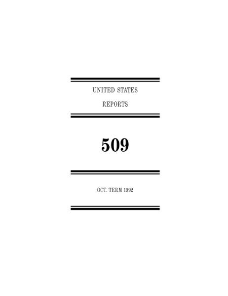 File:United States Reports, Volume 509.djvu