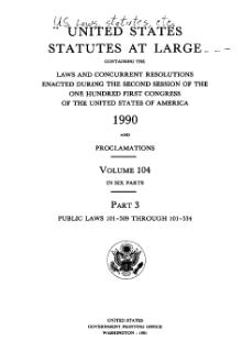 United States Statutes at Large Volume 104 Part 3.djvu
