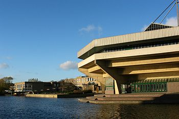 University of York: View from beneath the Cent...