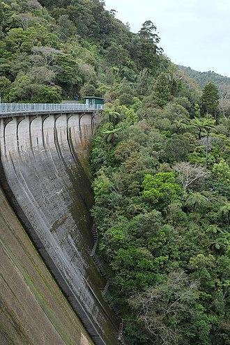 Upper Nihotupu Reservoir - Upper Nihotupu Dam