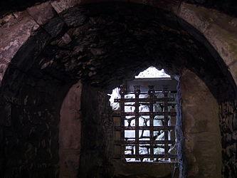 Urquhart Castle gated window 2.jpg
