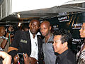 Usain Bolt Asafa Powell Kingston 2008.jpg