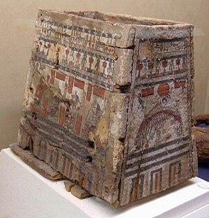 Ushabti - An ushabti box at the Rosicrucian Egyptian Museum.
